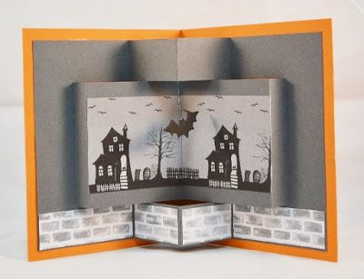 Just Dreamin' Stamps: Spooky Witch Halloween Card