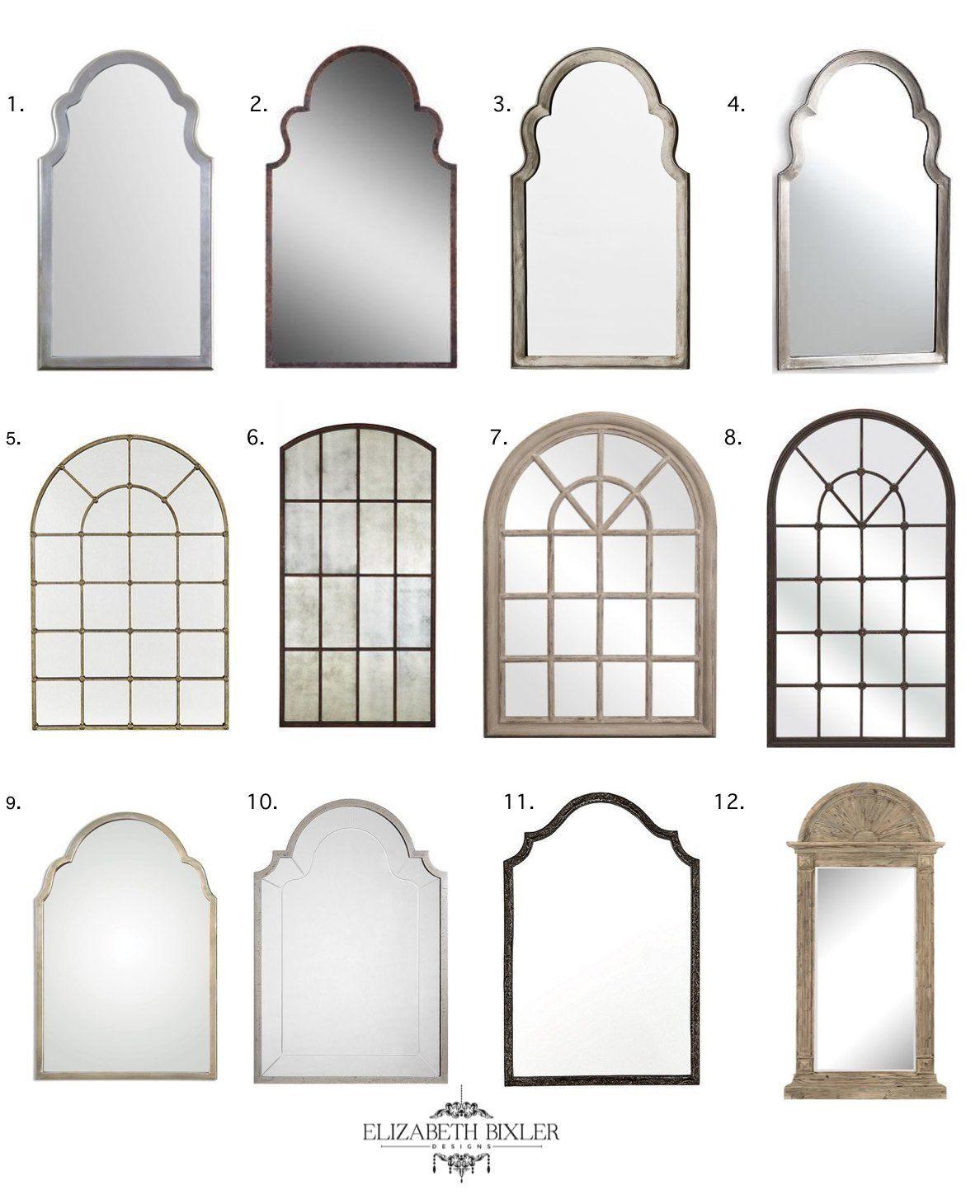 My Favorite Arch Mirrors Farmhouse mirrors, Arch mirror