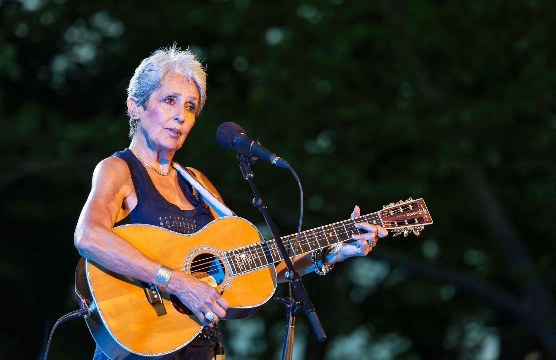 The Music Goes On Joan Baezs Latest And Last Album Arrives