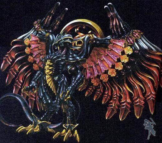 Finalfantasy Bahamut From Ffx Wota Creatures Bahamut Final Fantasy