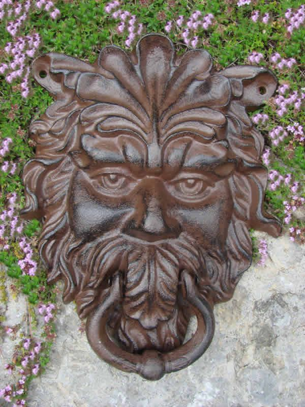 The Green Man Door Knocker Is A Cast Iron Manu0027s Face With Leafy Hair And  Beard. Talk About Unique! Available At Www.mondusdistinction.com
