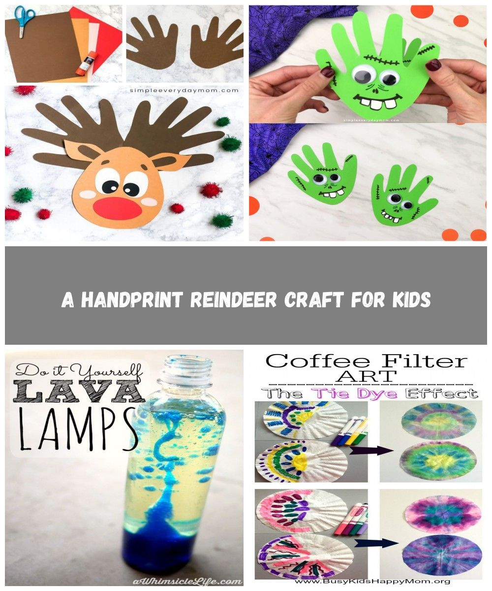 This handprint reindeer is a fun DIY Christmas craft for kids to make. It's easy enough for toddlers, preschool and kindergarten children to make and it comes with a free printable template. Make it at home, at school or at church!   #simpleeverydaymom #reindeercrafts #christmascrafts #christmascraftsforkids #christmas #toddlers #preschool #kindergarten #easycrafts #schoolcrafts #kidsdiy #classroom crafts for kids A Handprint Reindeer Craft For Kids #christmascraftsforkidstomaketoddlers