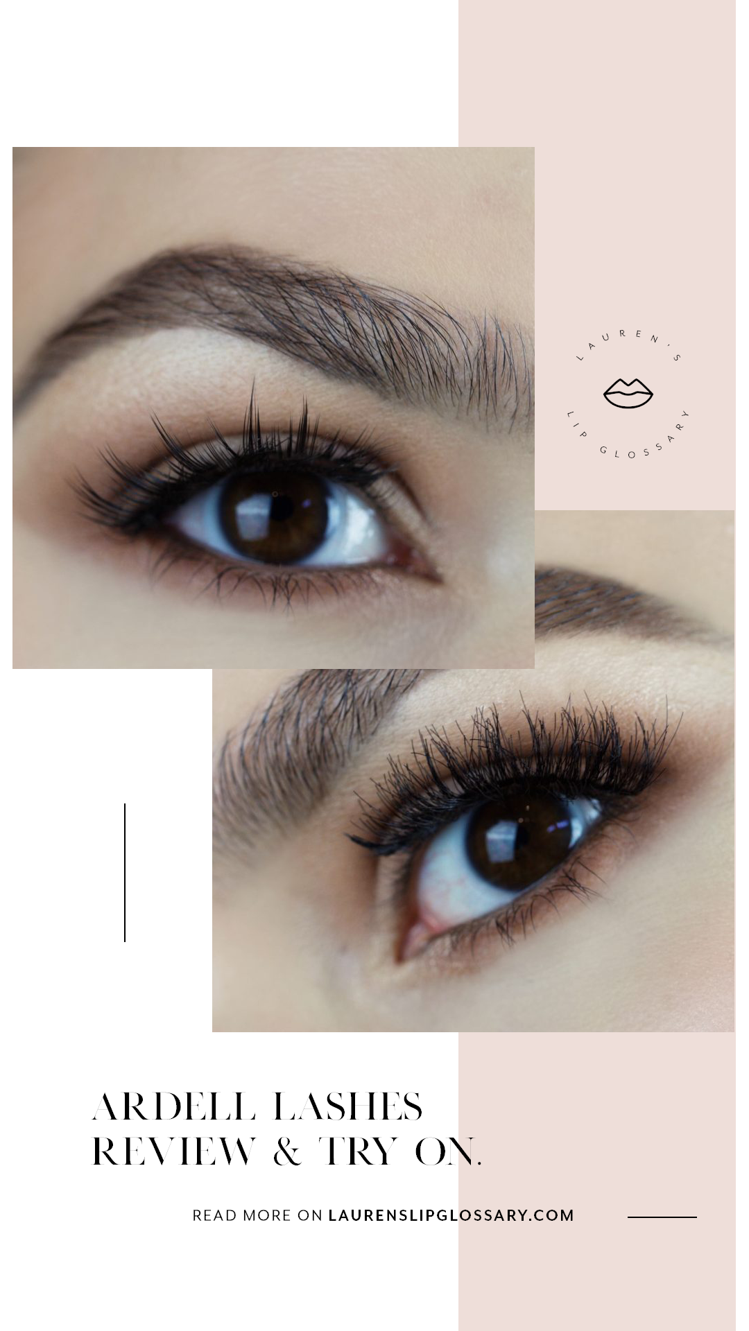 0285bcb75a8 Ardell Lashes Review & Try On, drugstore makeup, drugstore false eyelashes