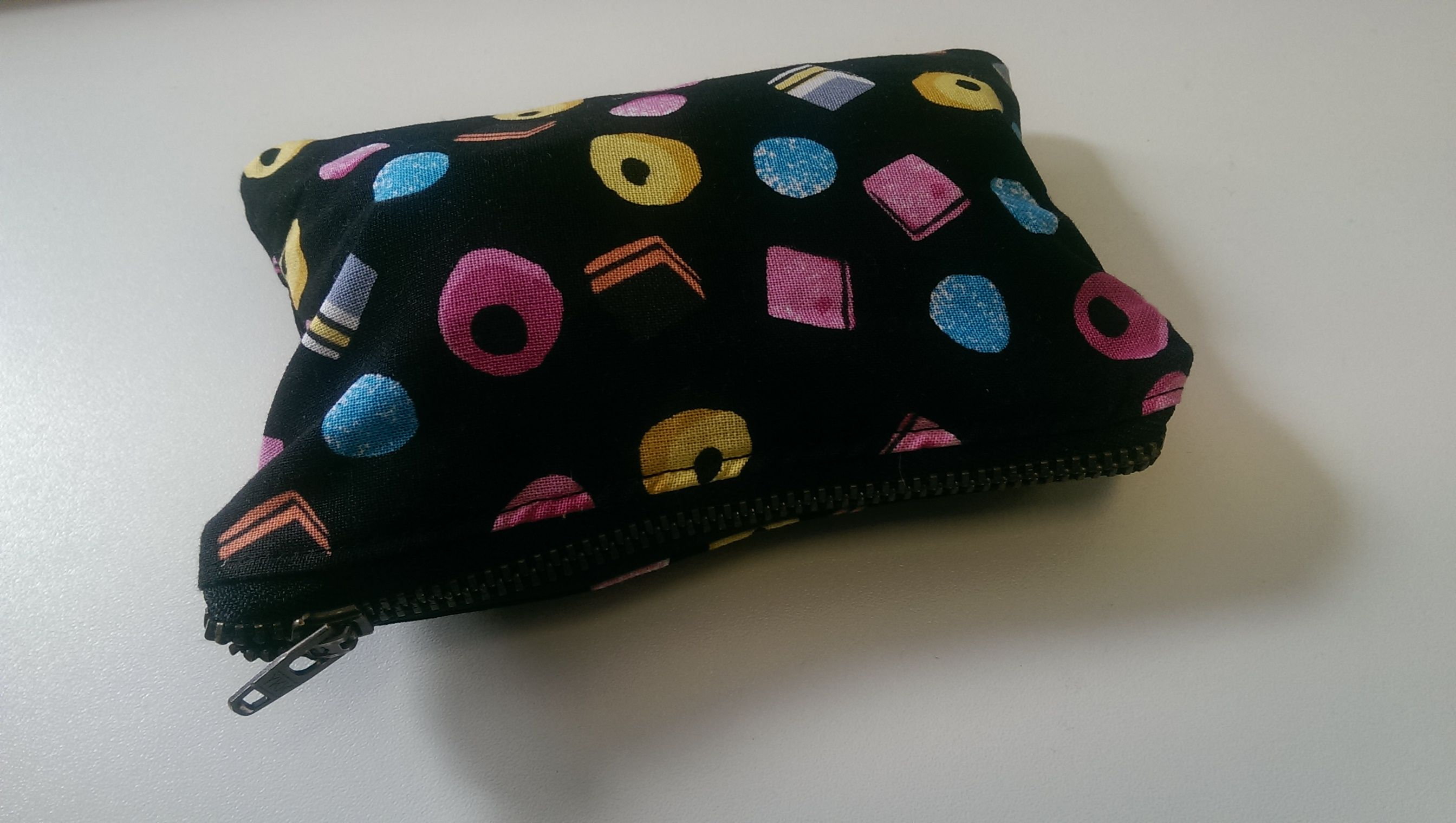 Matching purse to carry spare needles, meds etc...