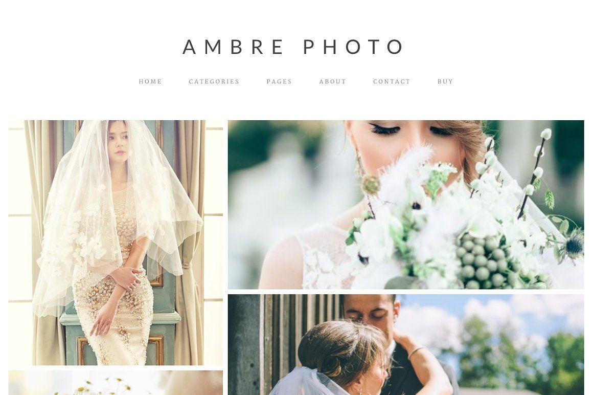 Free #Download: Ambre Photo - WordPress Theme. | Design Deals ...