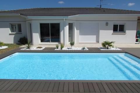 Plage de piscine et galets, France Darna Pinterest Swimming