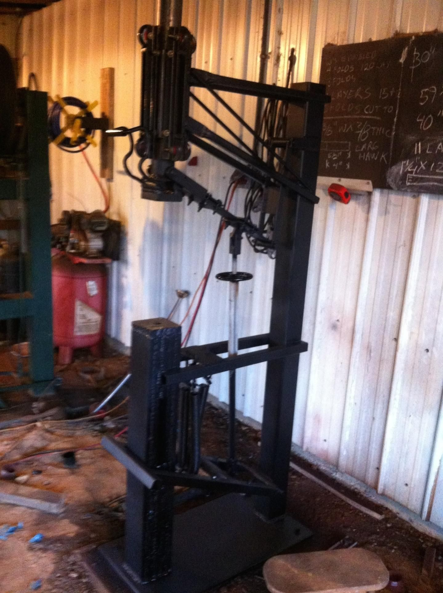 In Line Treadle Hammer Power Hammer Blacksmith Power Hammer Home Forge