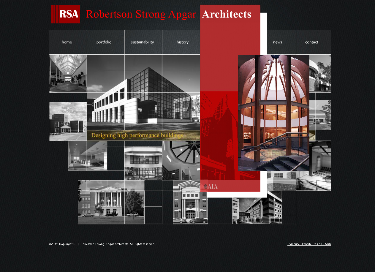 Architectural Website Design May 2009 Designed By Acs Www Acs Web