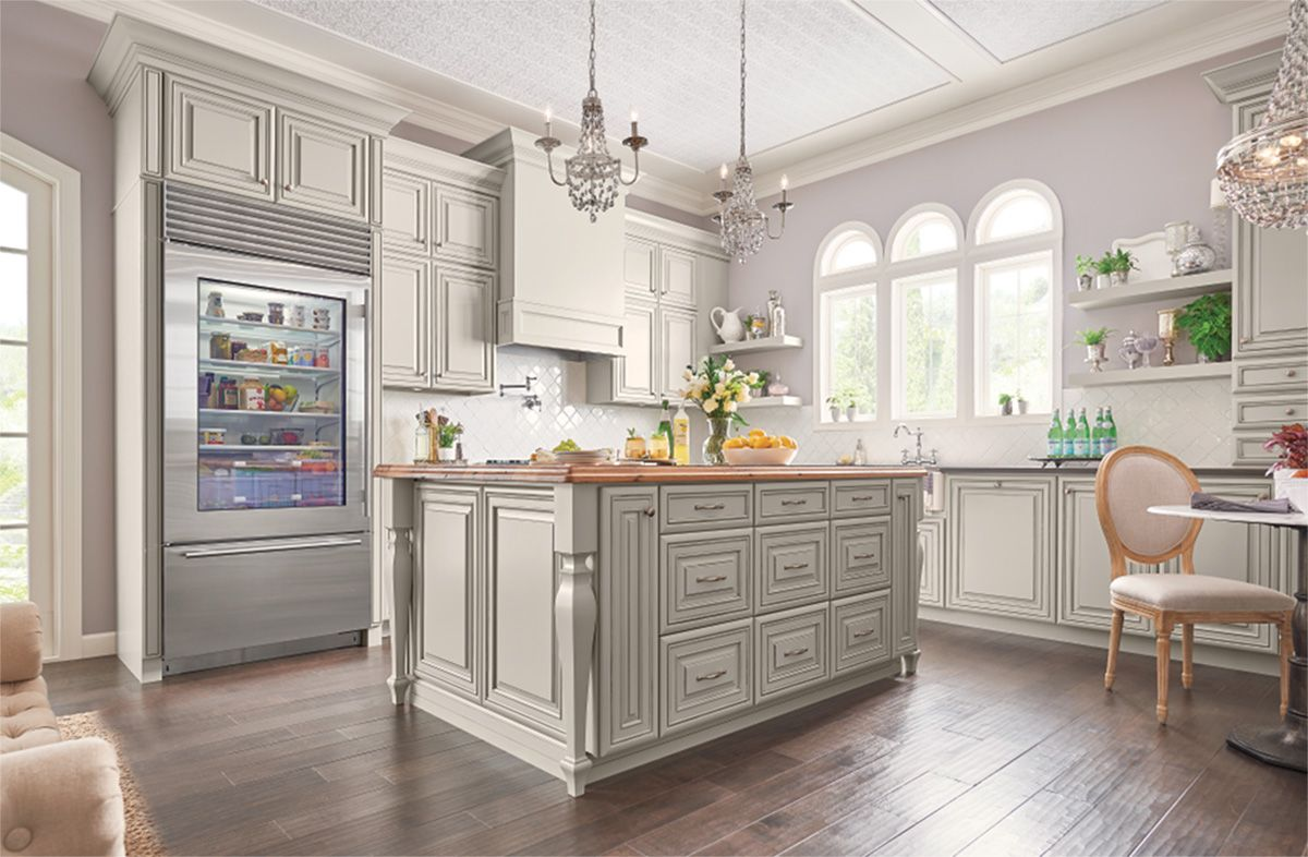 Glaze For Kitchen Cabinets Designing With Painted Ember Glaze Kitchen Kitchen Cabinets