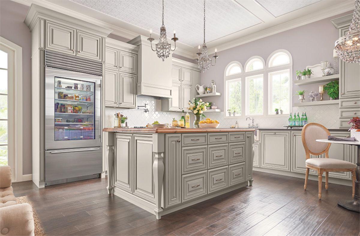 Designing With Painted Ember Glaze Glazed Kitchen Cabinets