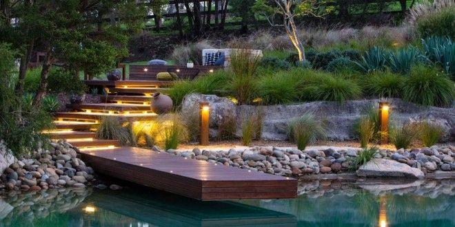 Garten idee  traumgarten-garten idee mit holztreppe | Garten | Pinterest