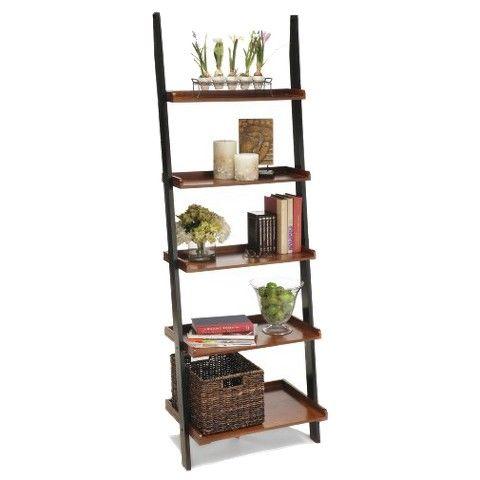 Convenience Concepts 2 Tone Ladder Bookcase