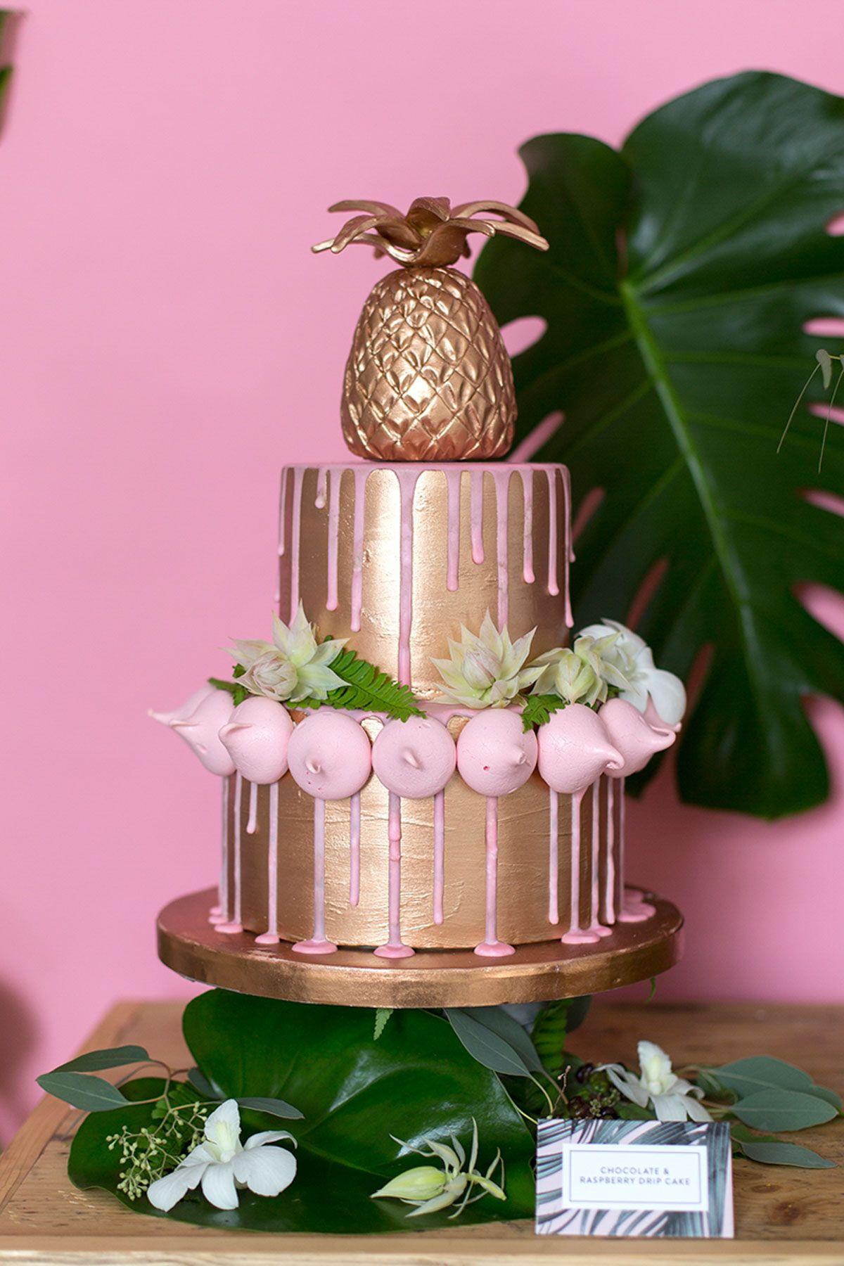 Urban Jungle\' Copper & Pink Wedding Inspiration | Pinterest | Lake ...