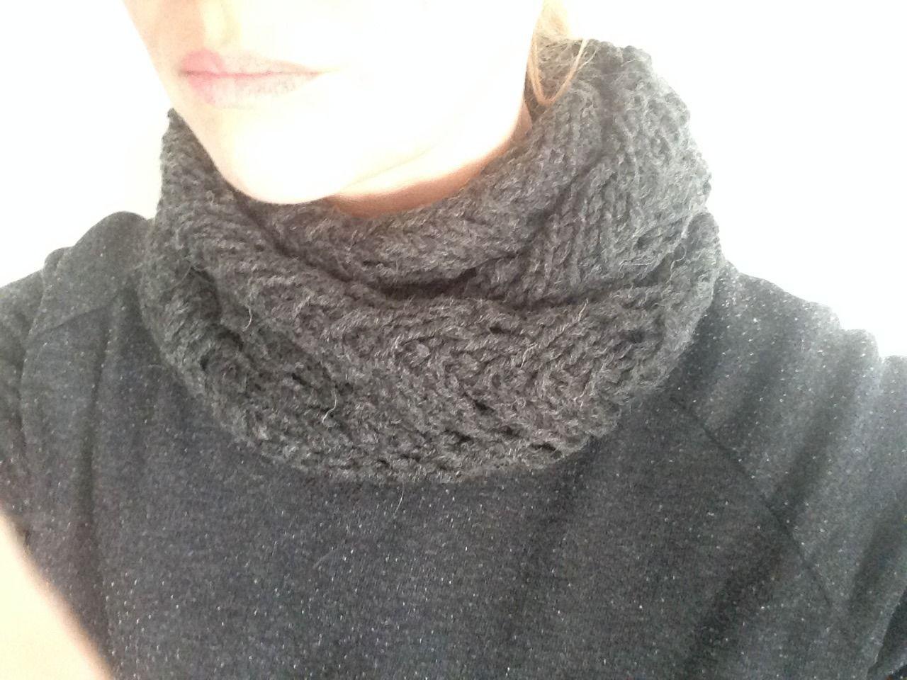Tour du cou en laine : Echarpe, foulard, cravate par le-monde-de-sophie