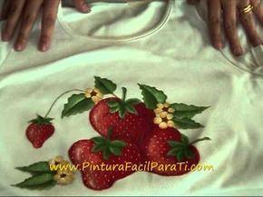 Re Fijador Textil Pintura En Tela Pintura Facil Para Ti Wmv Pintura En Tela Videos De Pintura Pinturas Fáciles