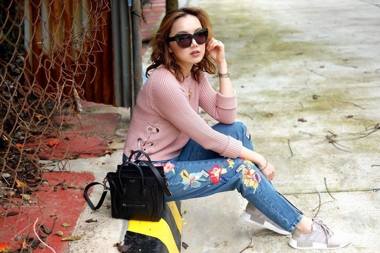 8cf12905c25 Avec quelle tenue porter les baskets Adidas NMD femme  40+ idées stylées!