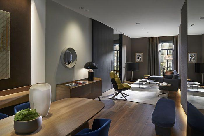 Barcelona Accommodation Deluxe Suite Mandarin Oriental
