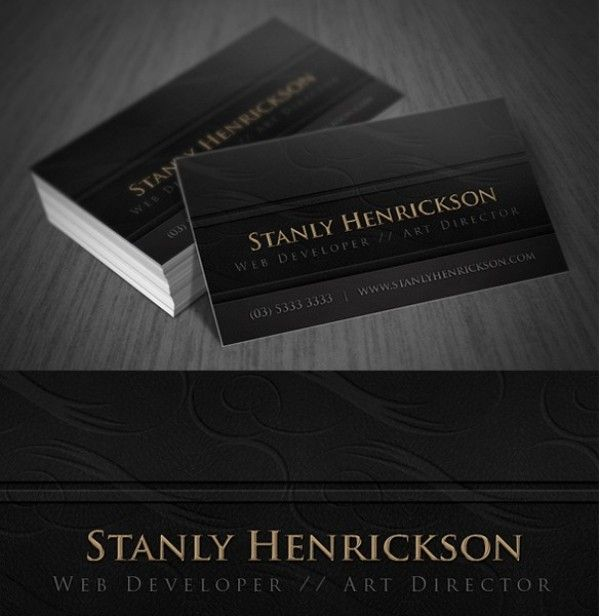 Deluxe leather business card template set httpwelovesolo deluxe leather business card template set httpwelovesolo reheart Choice Image