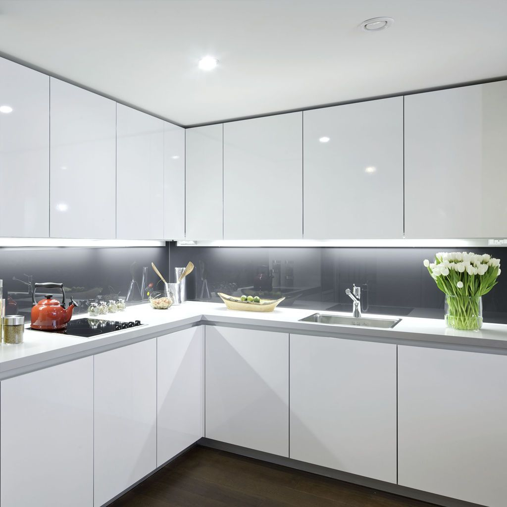 Under Cabinet Lighting #kitchensplashbacks