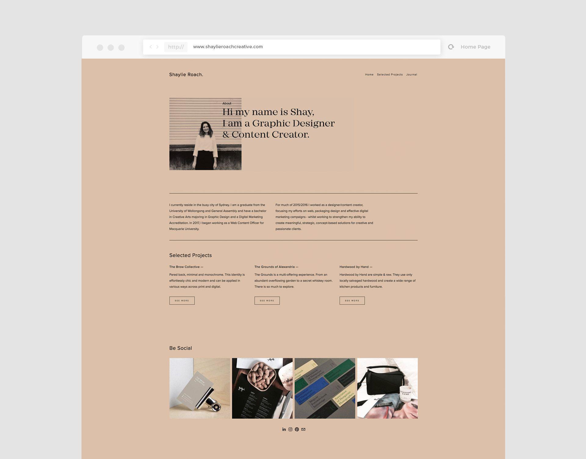 Hi My Name Is Shay I Am A Graphic Designer Content Creator Web Design Web App Design Design