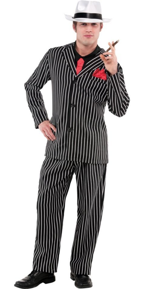 Mens Mob Boss Costume ($39.99) - Party City | <> Party City ...