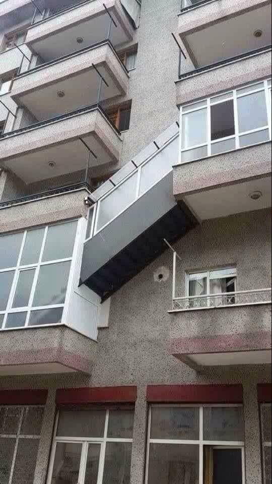Best The Craziest Outside Maisonette Staircase You Will Ever See In A Living Block House Styles 400 x 300