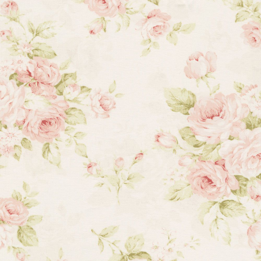 Kinds Of Vintage Floral Curtains - Pink floral fabric by the yard