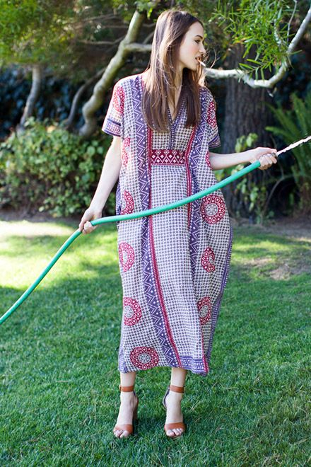 For summer--a caftan!: Butterfly Caftan | Emerson Fry
