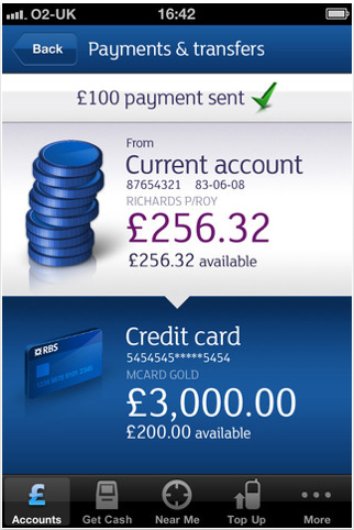 Rbs Confirmation Screen Almost Natwest Branded Banking App