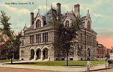 Concord New Hampshire Old Post Office Wikipedia The Free Encyclopedia New Hampshire Historic Mansion Old Post Office