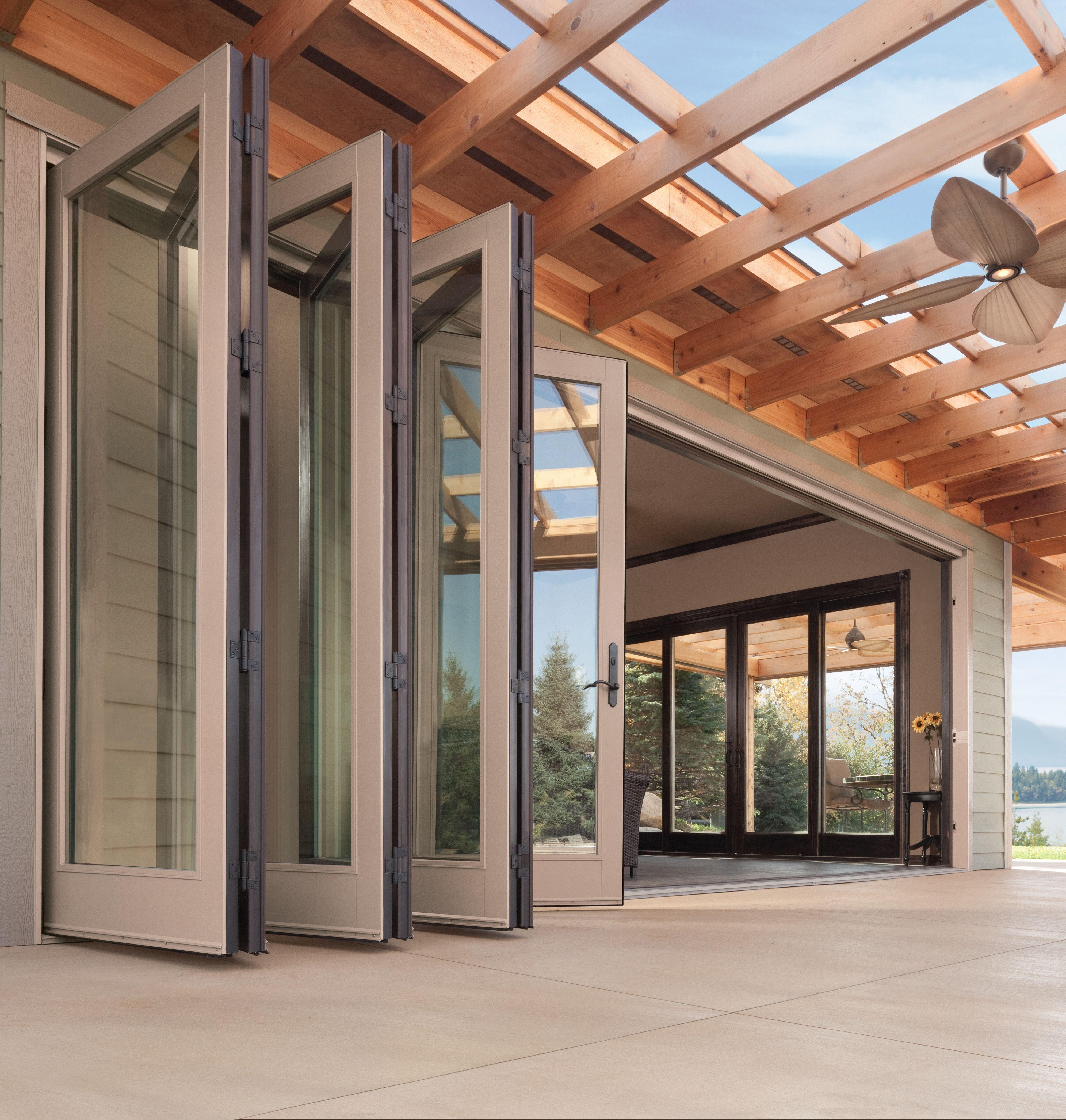 Andersen Outswing Folding Door Indoor Outdoor Living Glass Doors Patio Folding Patio Doors Big Doors