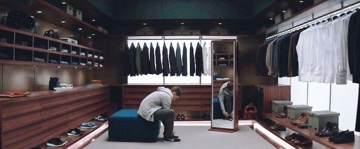 1001 ideen f r offener kleiderschrank tolle wohnideen fity shades of grey pinterest. Black Bedroom Furniture Sets. Home Design Ideas