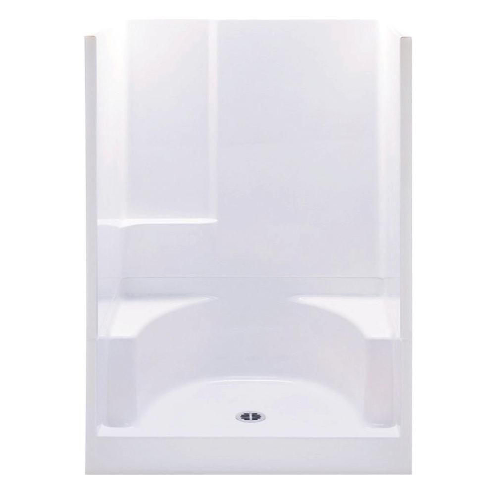 Aquatic Remodeline 48 In X 34 In X 72 In 2 Piece Shower Stall