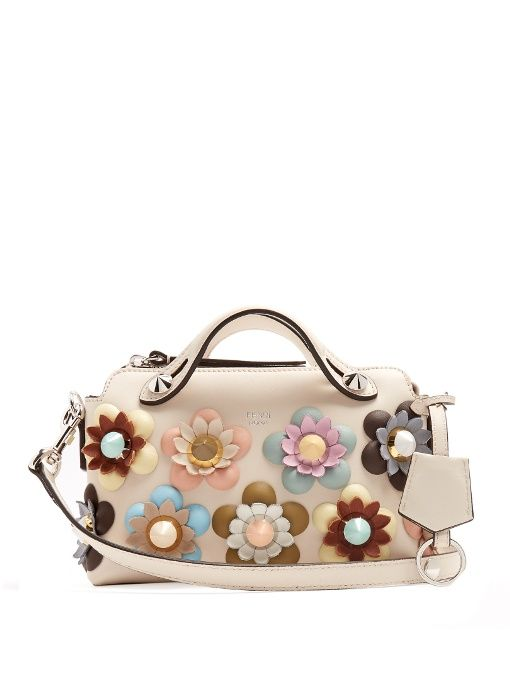 760164b063ce Fendi By The Way mini Flowerland cross-body bag