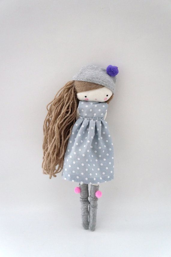 Custom order for Kanza Handmade rag doll by lassandaliasdeana