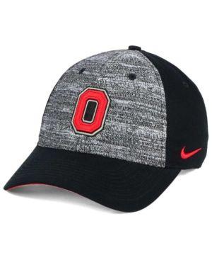Nike Ohio State Buckeyes H86 Heathered Cap - Black Adjustable