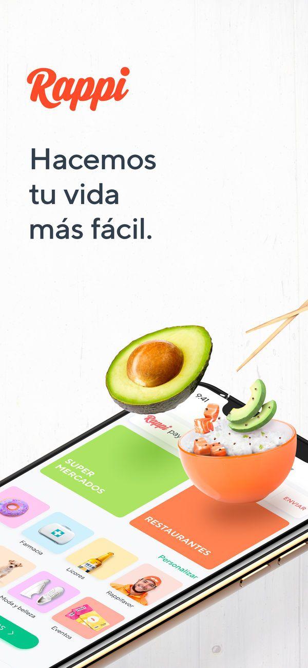 Rappi Food & Groceries en App Store Empaques para