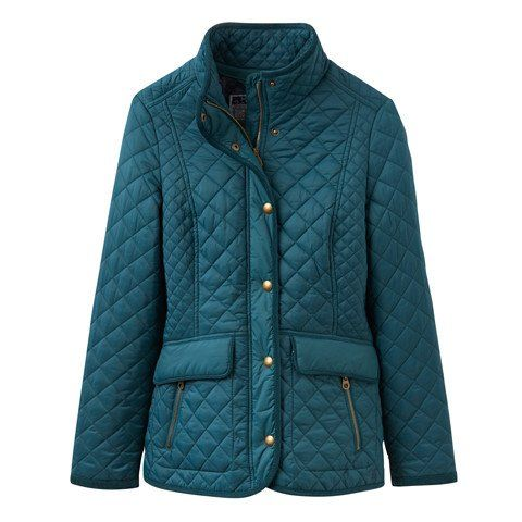 Newdale Quilted Jacket in Dark Green by Joules | My Style ... : joules green quilted jacket - Adamdwight.com