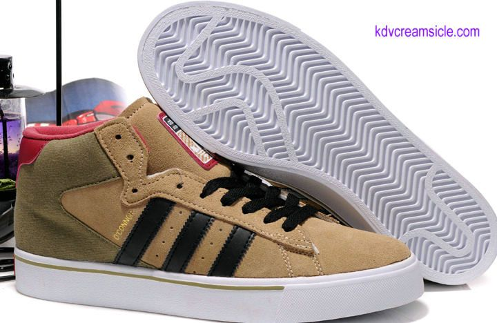 separation shoes e3aba e650b Buy 64.99 Adidas Campus Vulc Mid Skate Shoes Brown Black Win Red For Cheap  Sale- kd5creamsicle.com