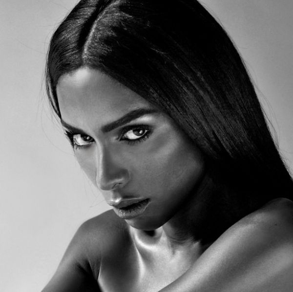 Ines Rau   Ines rau, Androgynous models, Black beauties