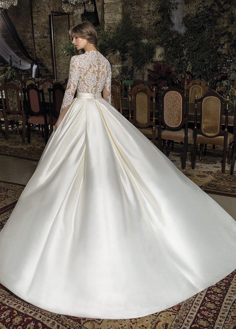 Cosmobella Bridal 2019 Wedding Dresses - Beautiful and feminine wedding dress , lace wedding gown ,ball gown wedding dress,wedding dress with pocket, mermaid wedding gown ,bridal dress #weddinggown #weddingdress