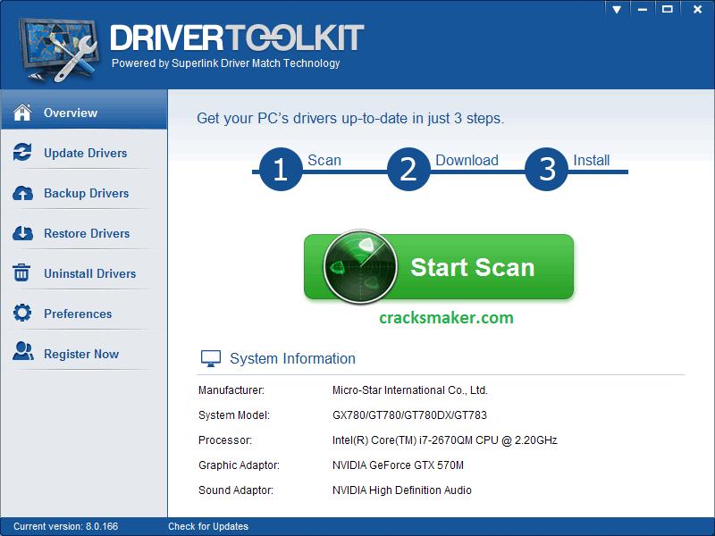 driver toolkit 8.5 crack keygen