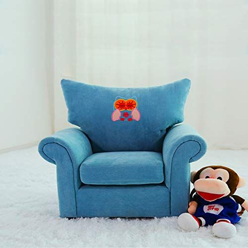 WAYERTY Children\u0027s Armchair, Children Sofa Cartoon Girl and boy Baby
