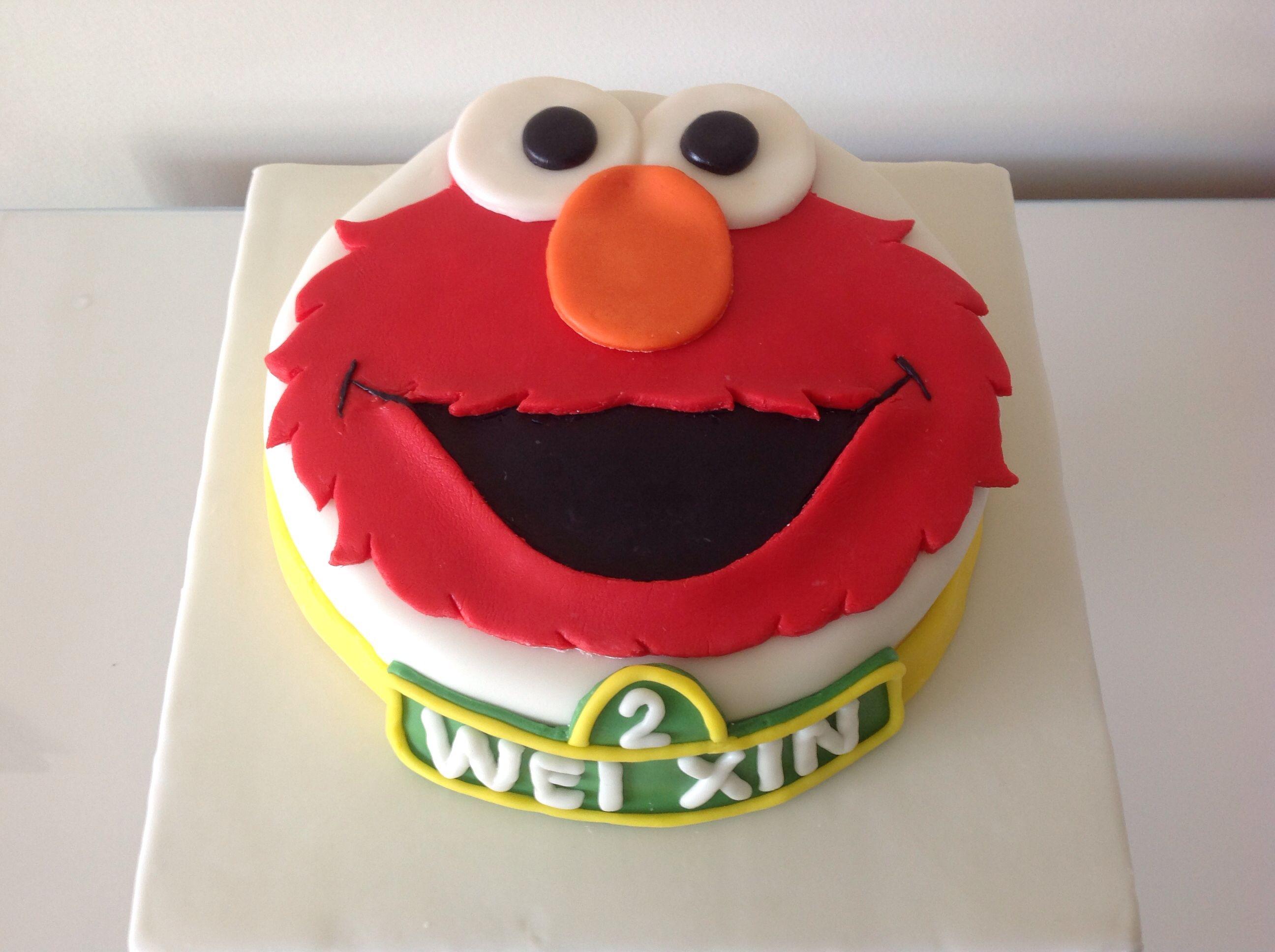 Elmo Fondant Cake Ideas For Xavis Bday Pinterest Elmo Fondant