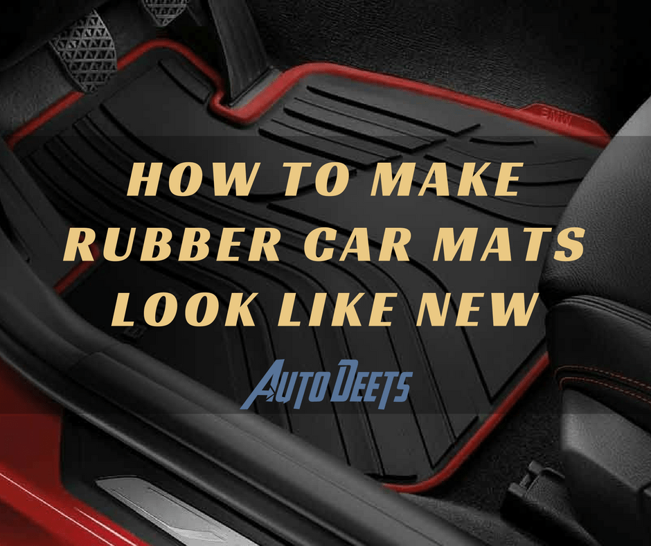 Tired Of Stubborn Dirt In Your Car Mats