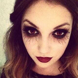 vampire diaries inspired halloween makeup  google search