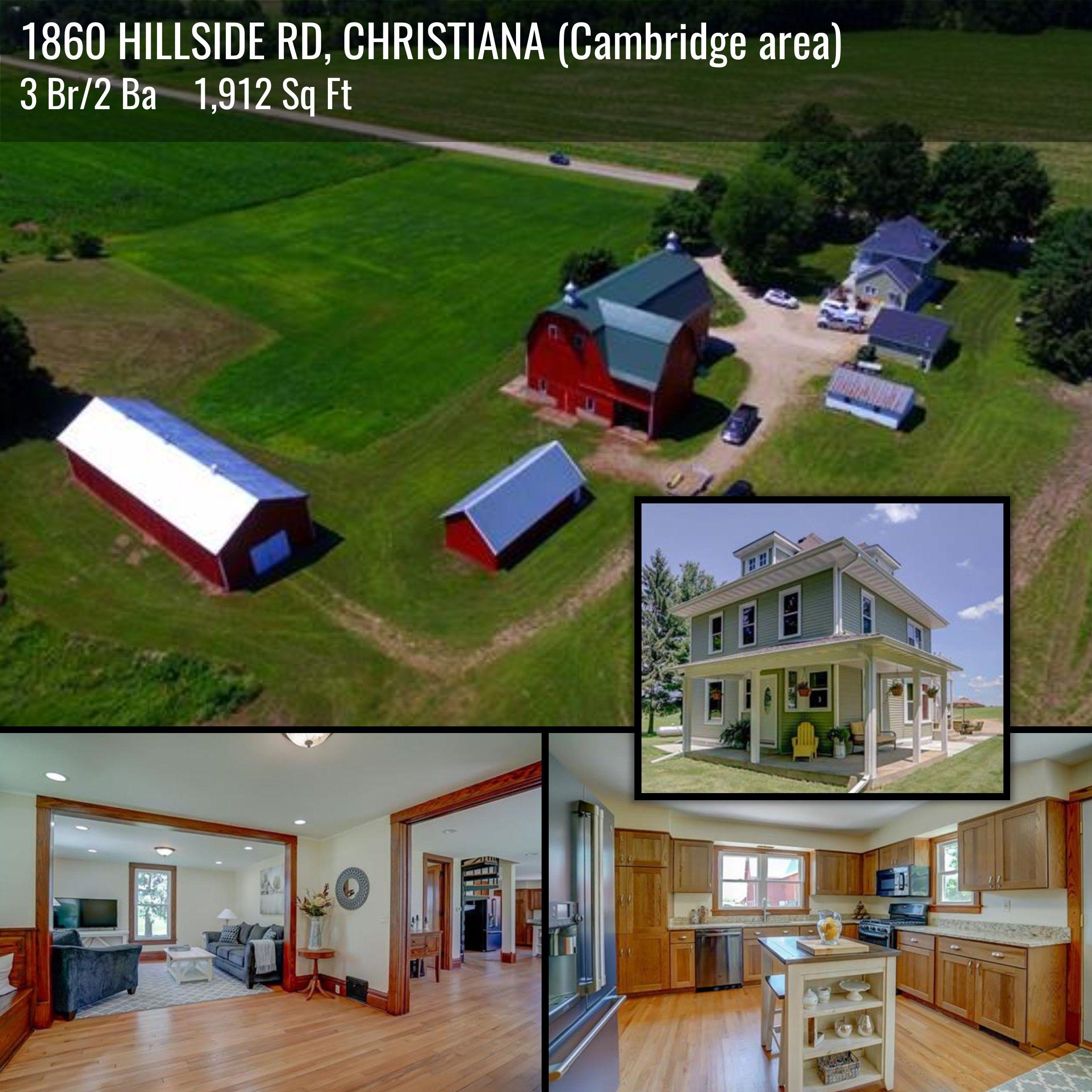 CHRISTIANA WI Cambridge 54 Ac Of Scenic Property W