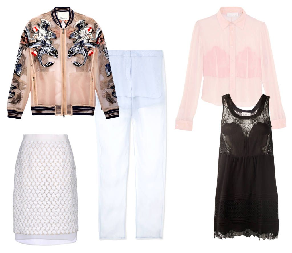 Sheer Styles To Try This Spring Fashion Articles Fashion Fashion