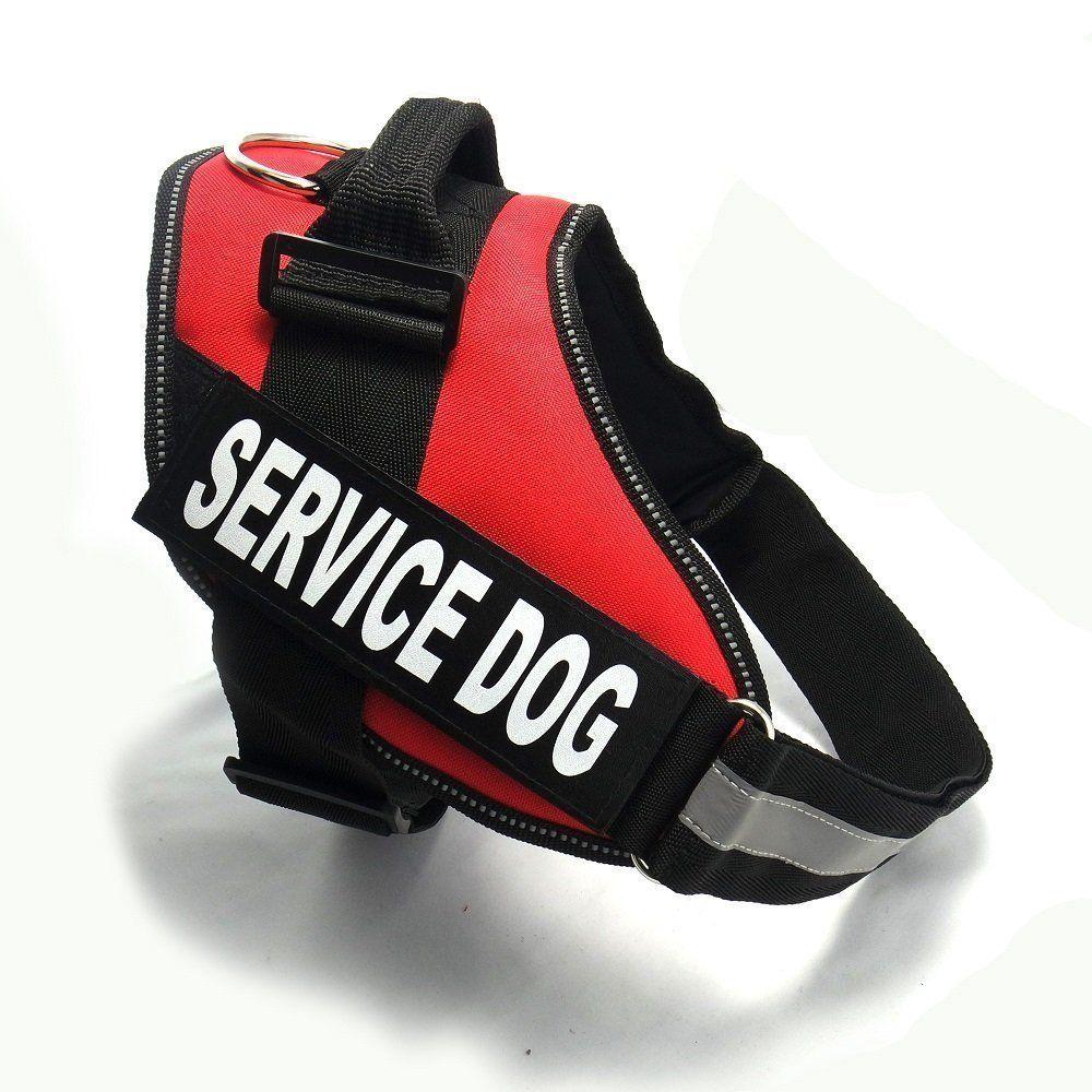 Fairwin service dog vest harness k9 no pull adjustable