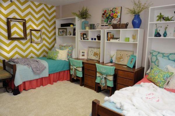 25 Well Designed Dorm Rooms To Inspire You Dorm Room Decor Dorm Room Essentials Cool Dorm Rooms